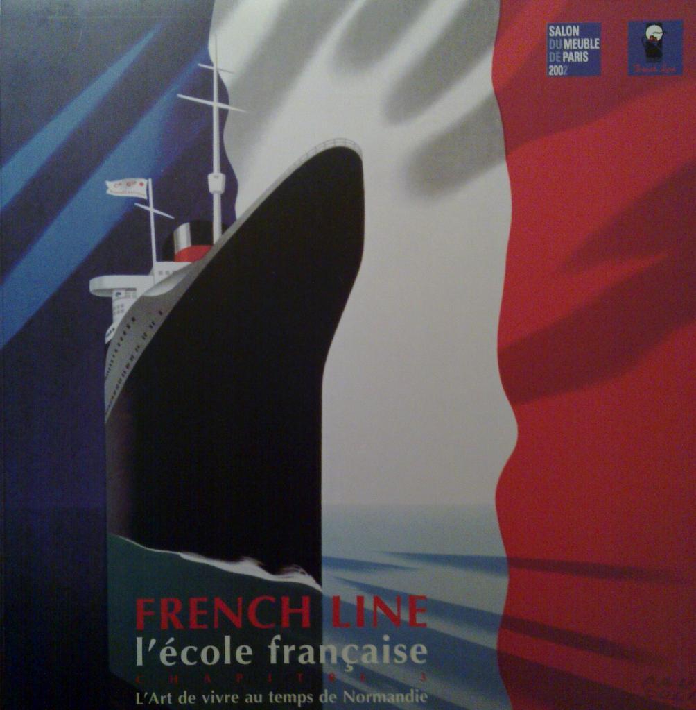 Meuble: Salon du Meuble Paris, déco à bord des paquebots French Line