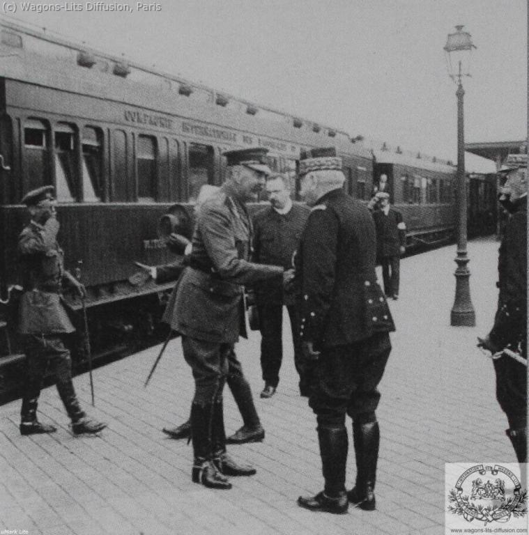 signature de l'armistice 1918