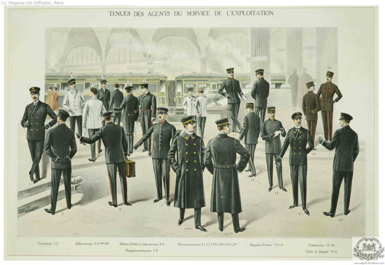 CIWL uniformes agents exploitation