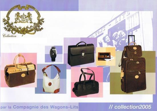 Collection d'articles de voyage et accessoire siglée WL