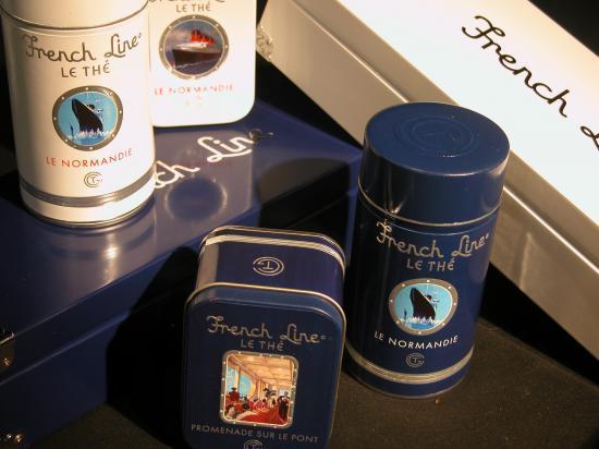 Epicerie fine: Coffrets de thé Frenc Line par Dammann