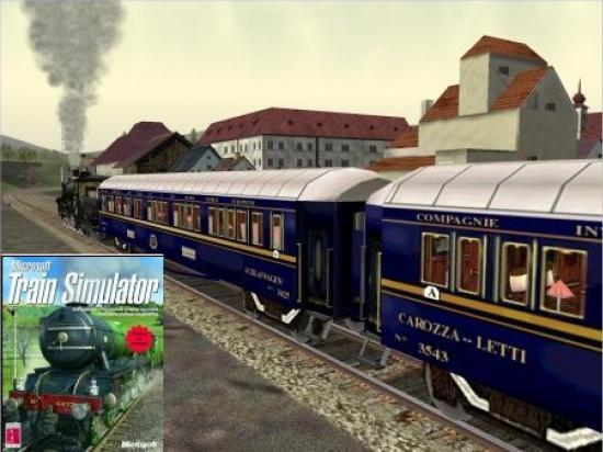 Jeu Video: Microsft Train Simulator