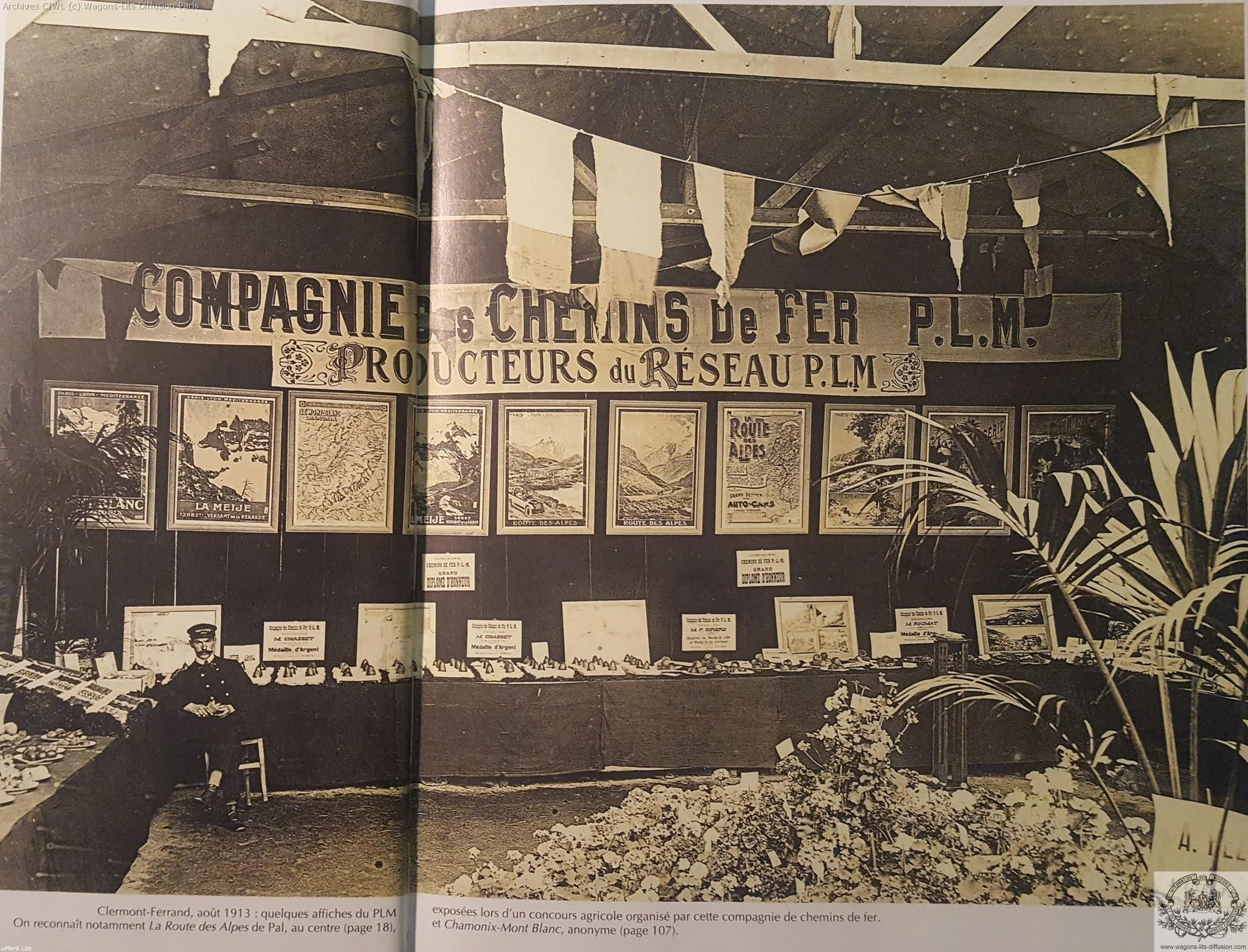 Plm exposition affiches 1913