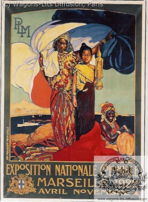 PLM marseille exposition coloniale