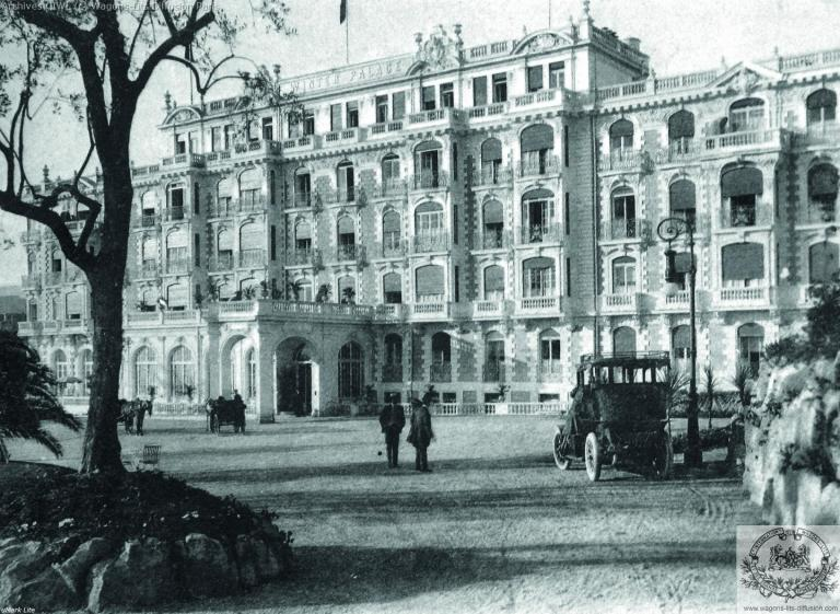 Plm winter palace hotel nice 1925