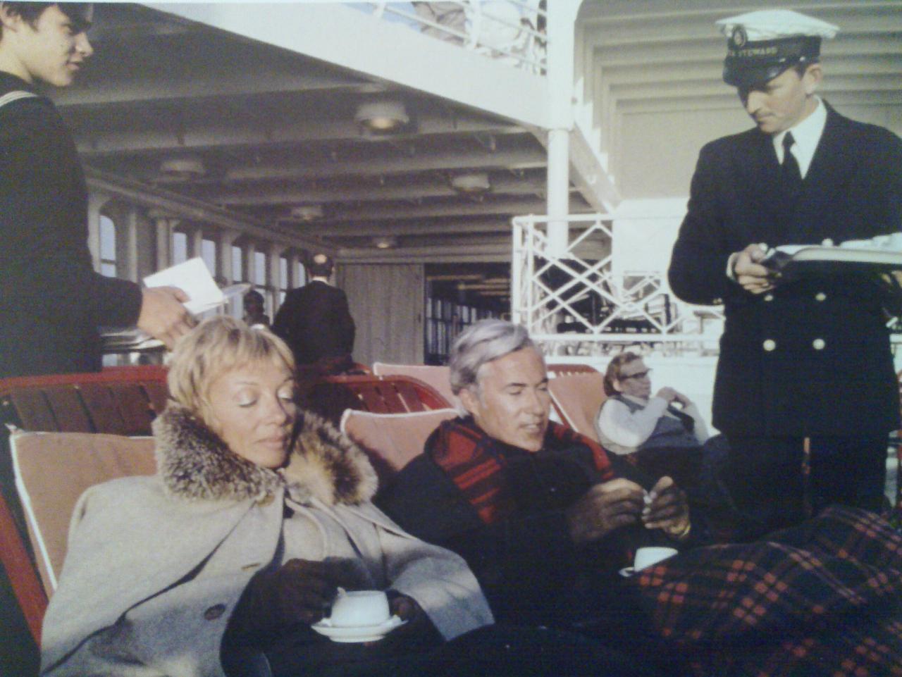 service a bord france