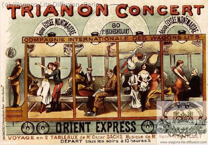 WL affiche Orient Express théatre