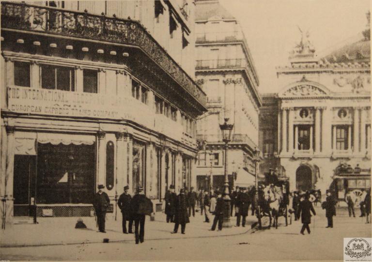 Wl agence opera vers 1890