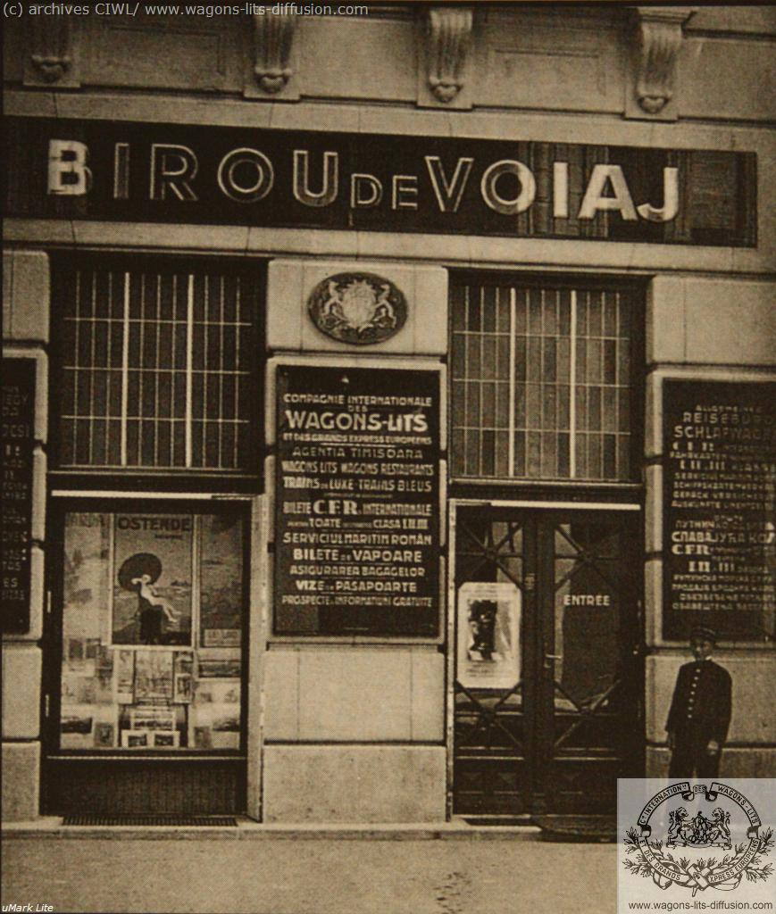 WL agence roumanie 1910