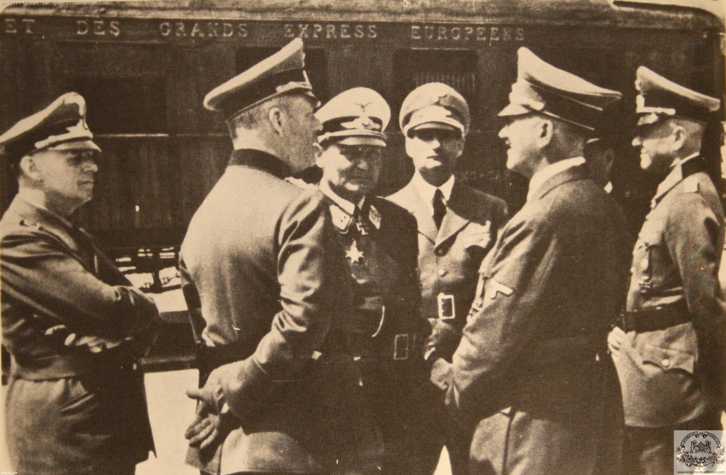 Wl armistice hitler goering vr 2419 en 1940 2