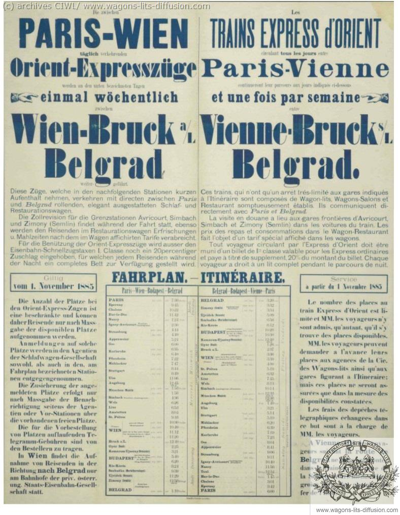 WL Article Inauguration OE 1883