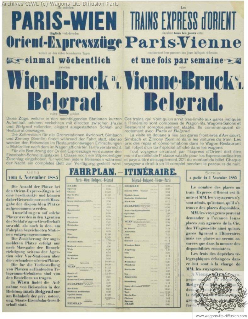 Wl article inauguration oe 1884