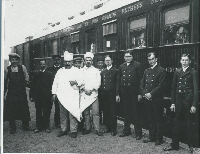 WL brigade voiture restaurant type armistice