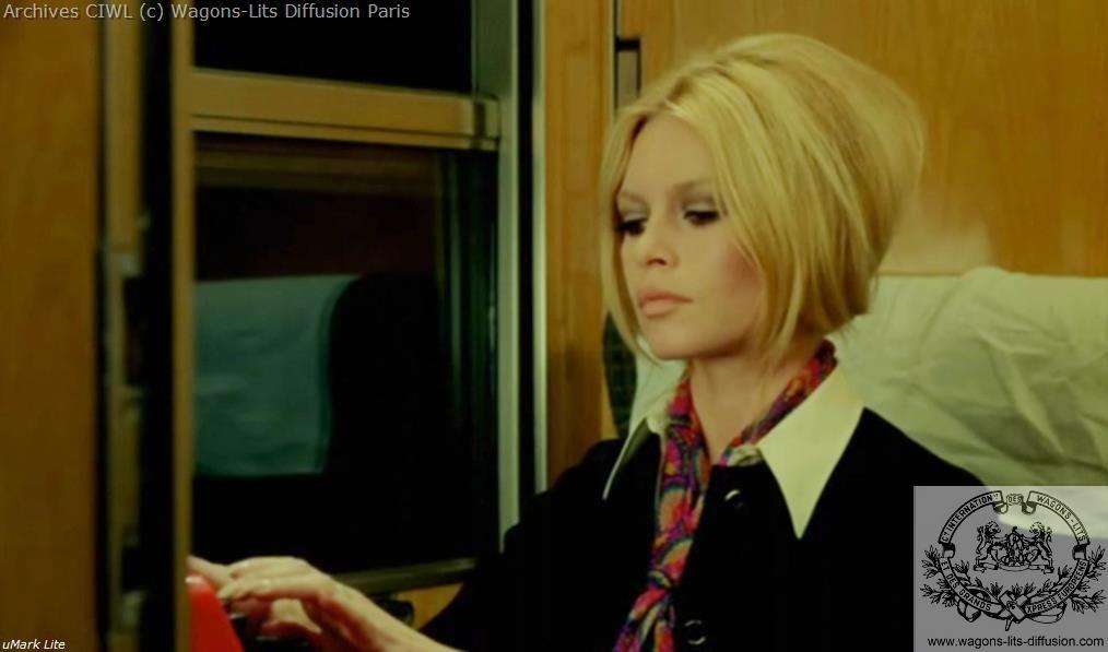 Wl brigitte bardot a bord du train bleu 1
