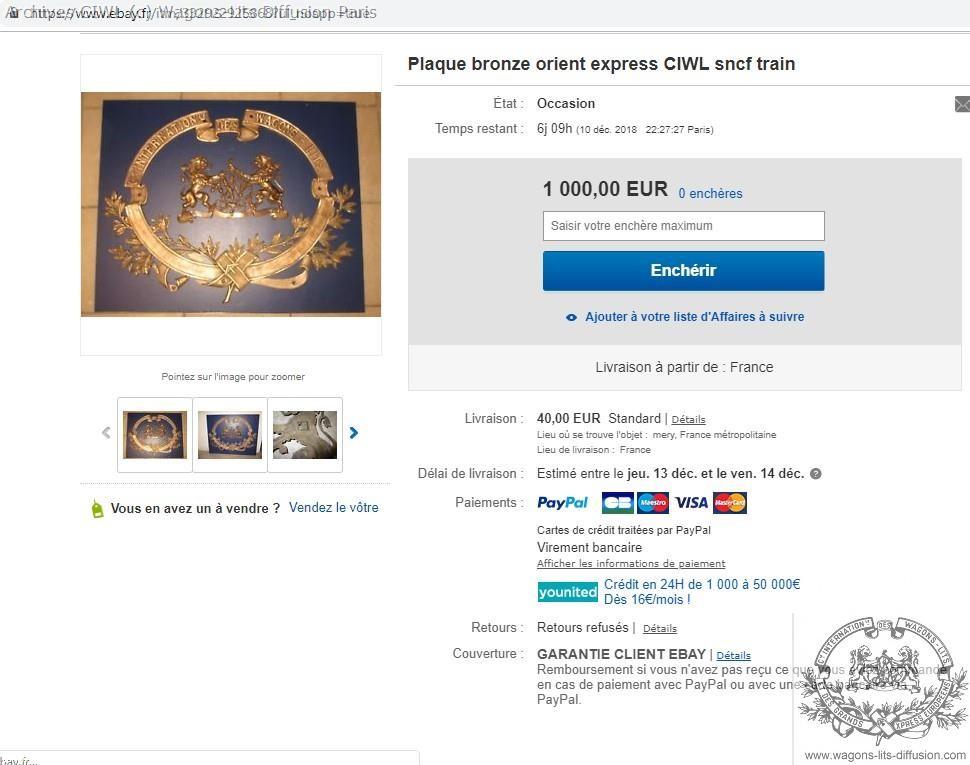 Wl confusion wl oe sncf logo sur ebay dec18