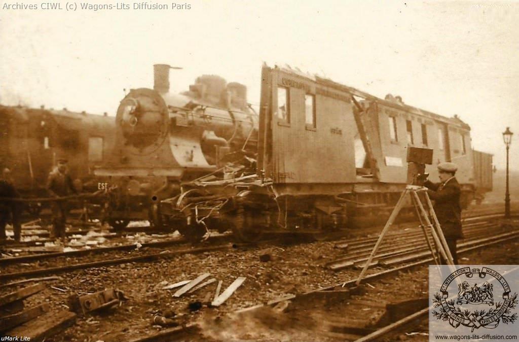 Wl cp fourgon n 1264 serie 1263 a 1276 construit en 1928