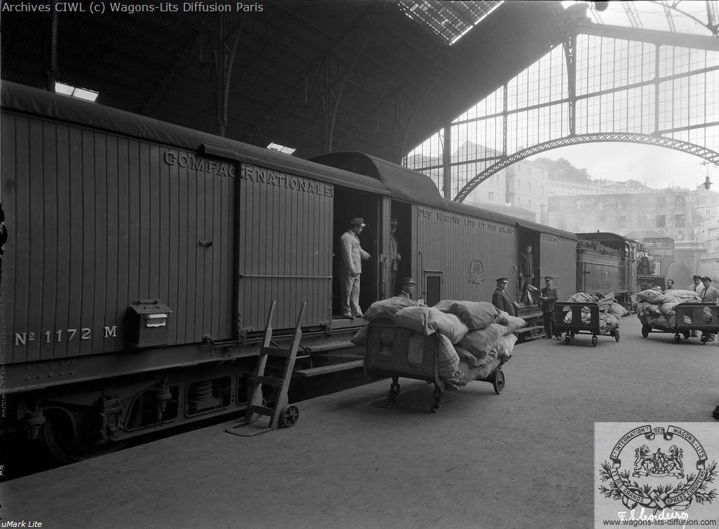 Wl fourgon truck n 1172 sud express 1934