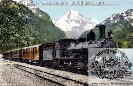 wl Gotthard Express CP3