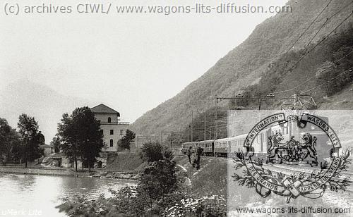 WL Gotthard Pullman Express 1927