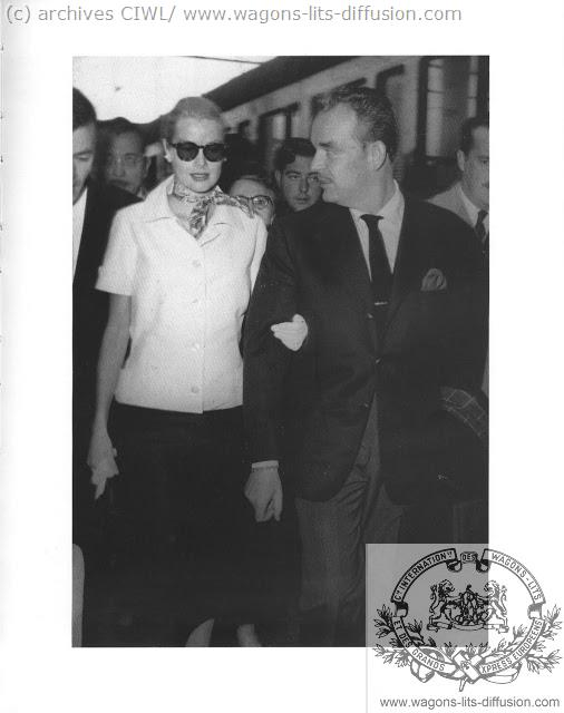 WL Grace kelly et prince Rainier 1956