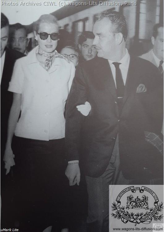 Wl grace kelly et prince rainier voyage de noce 1956