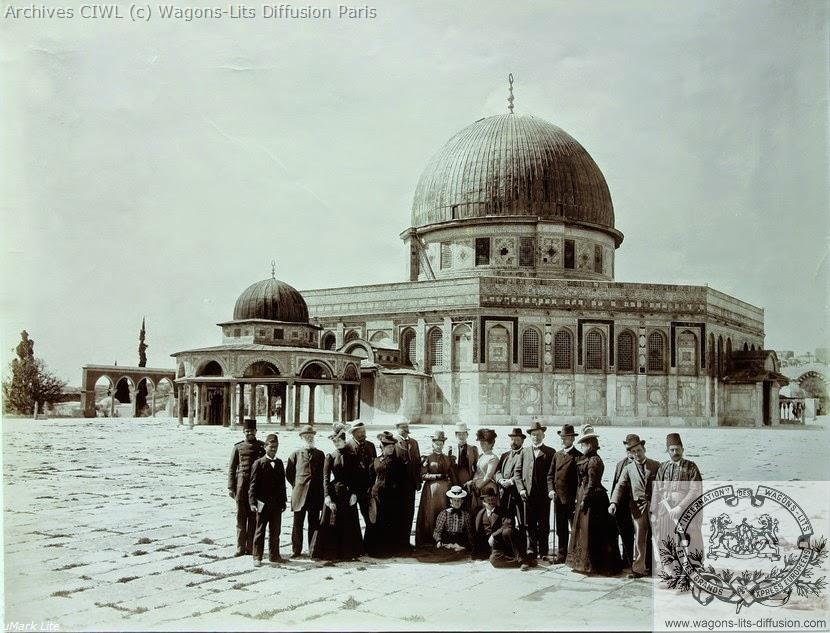 Wl jerusalem visiteurs dome du rocher 1
