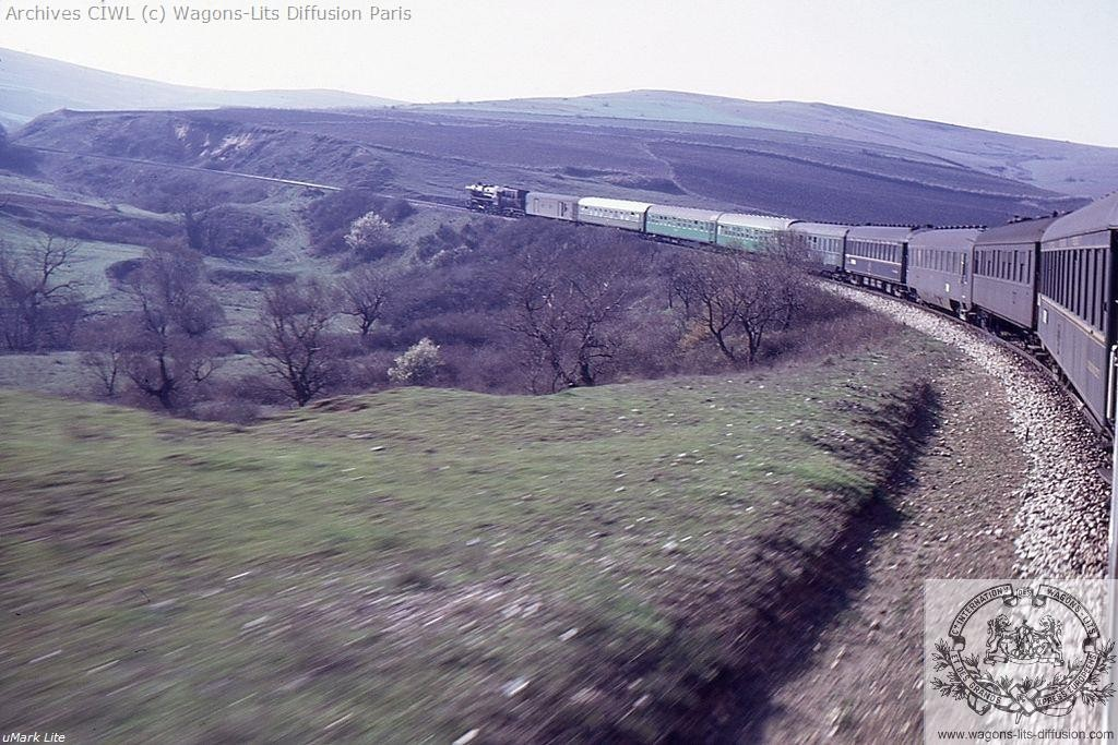 Wl le direct orient marmara express en 1970