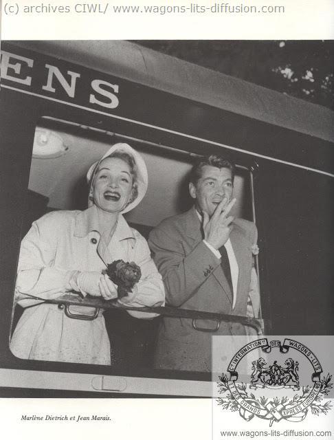 WL Marlene Dietrich y Jean Marais 1955