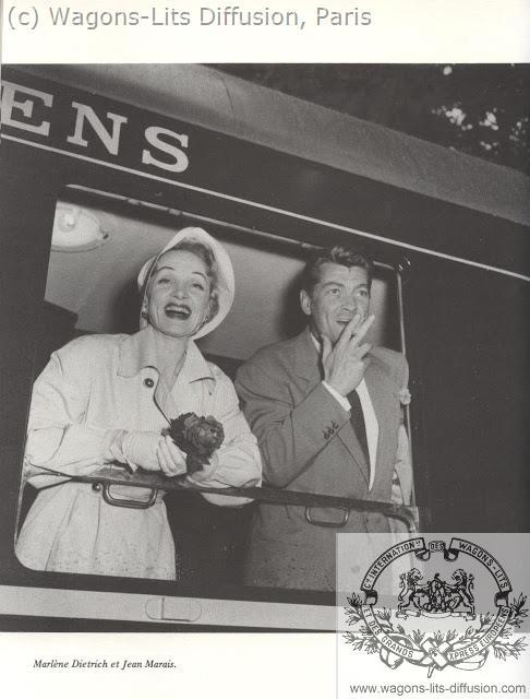WL Marlene Dietrich y Jean Marais