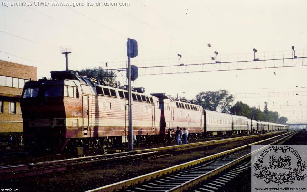 WL NIOE Russian loco 1988