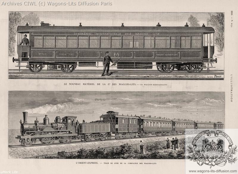 Wl orient express 1884 l illustration