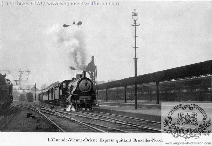 WL Orient Express à Bruxelles 1920