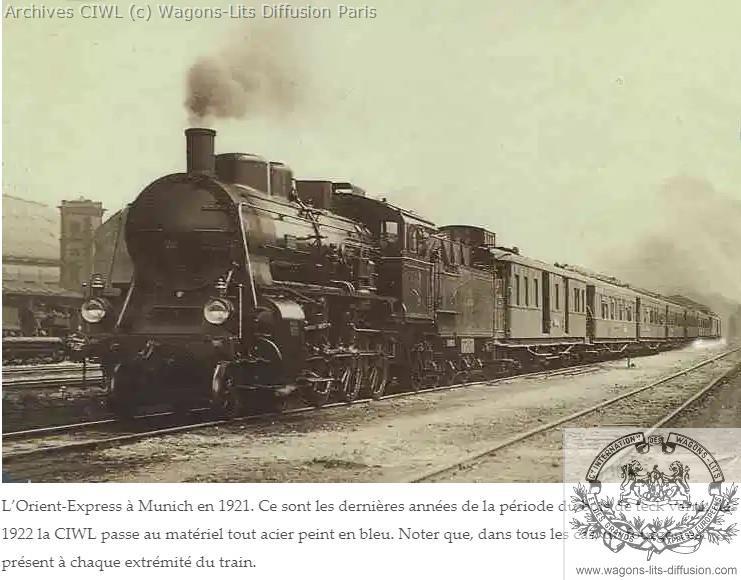 Wl orient express a munich en 1921