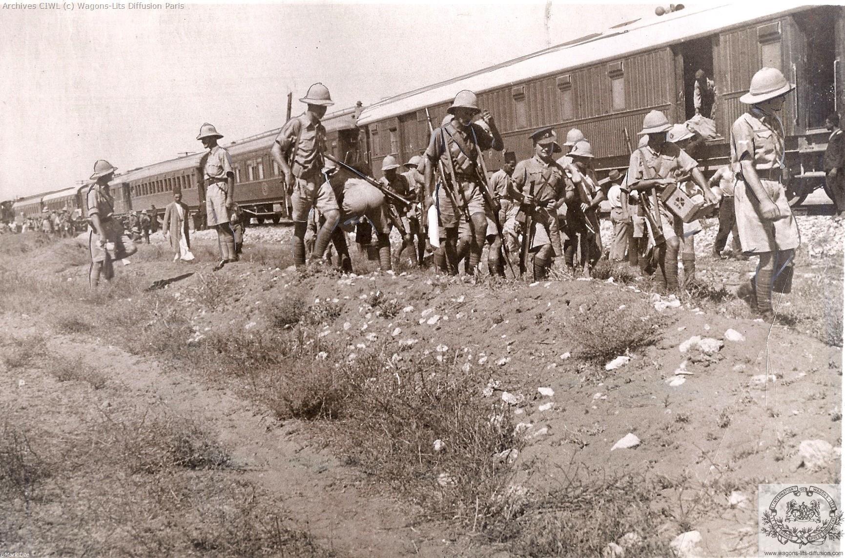 Wl palestine railways lydda junction in 1936 riots in palestine