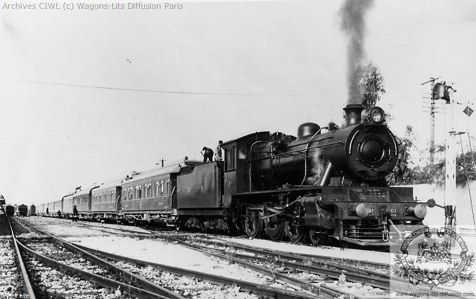 Wl palestine railways lydda junction in 1936 steam locomotive nr 61 north british locomotive works glasgow 1