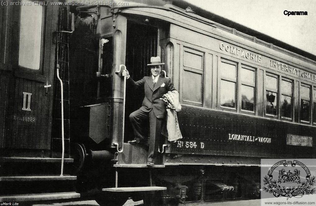 WL passager Orient Express à Istanbul 1920