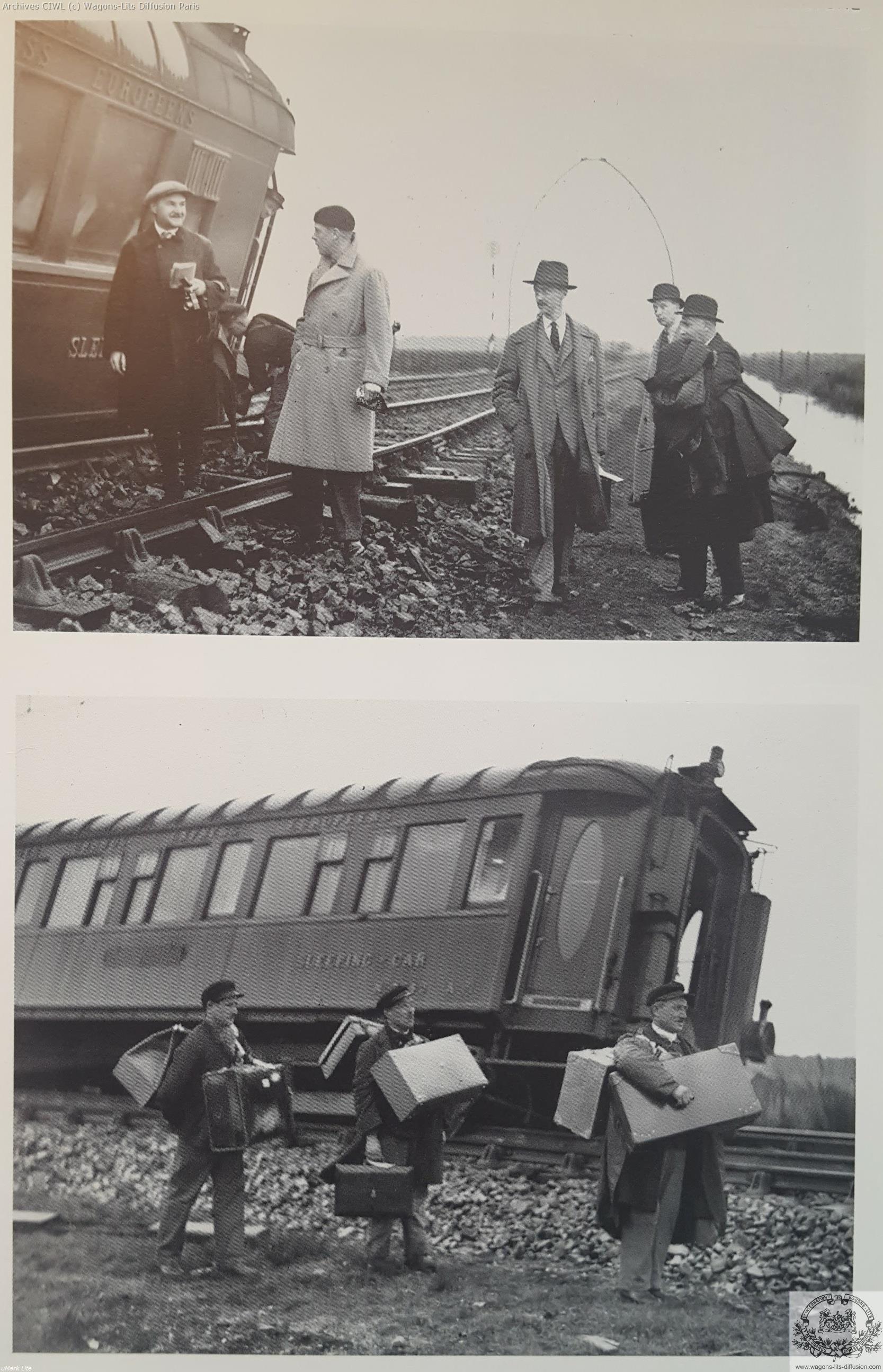 Wl prince de galles et prince georges pyerenees cote d argent express 1931