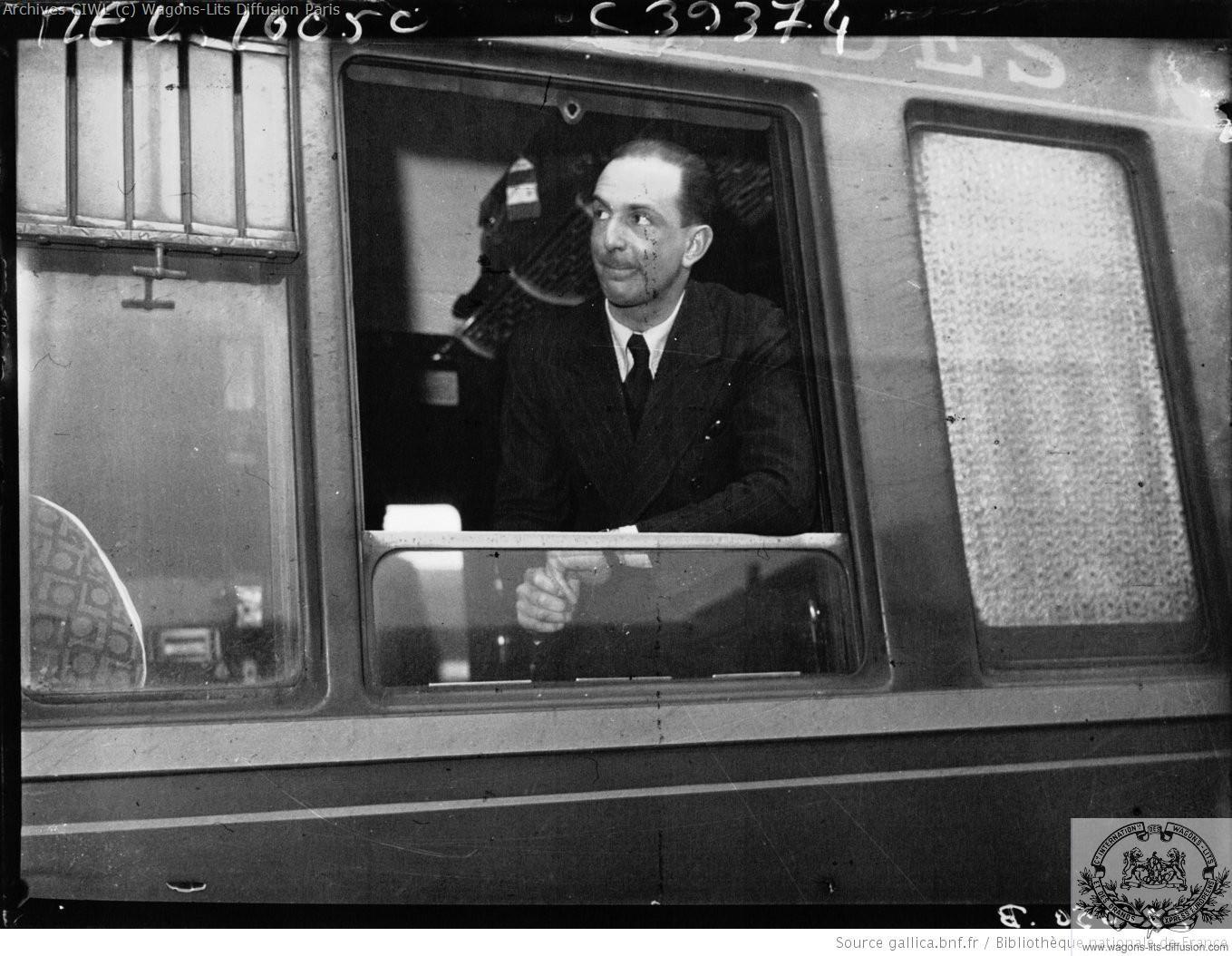 Wl prince paul de yougoslavie compartiment d un wl lx 1936