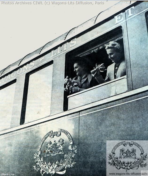 Wl pub orient express remise en service 1946