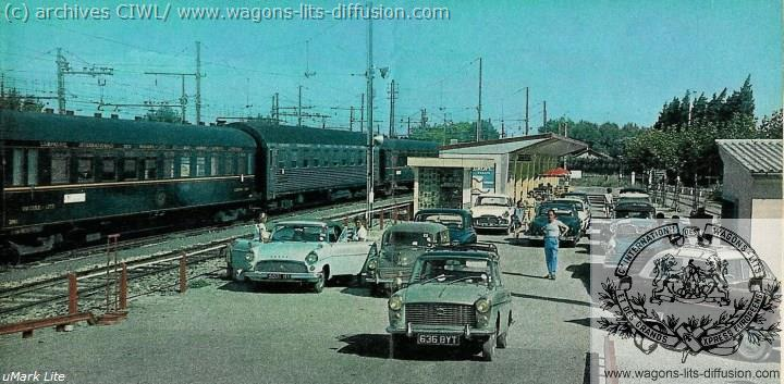 WL train auto 1965