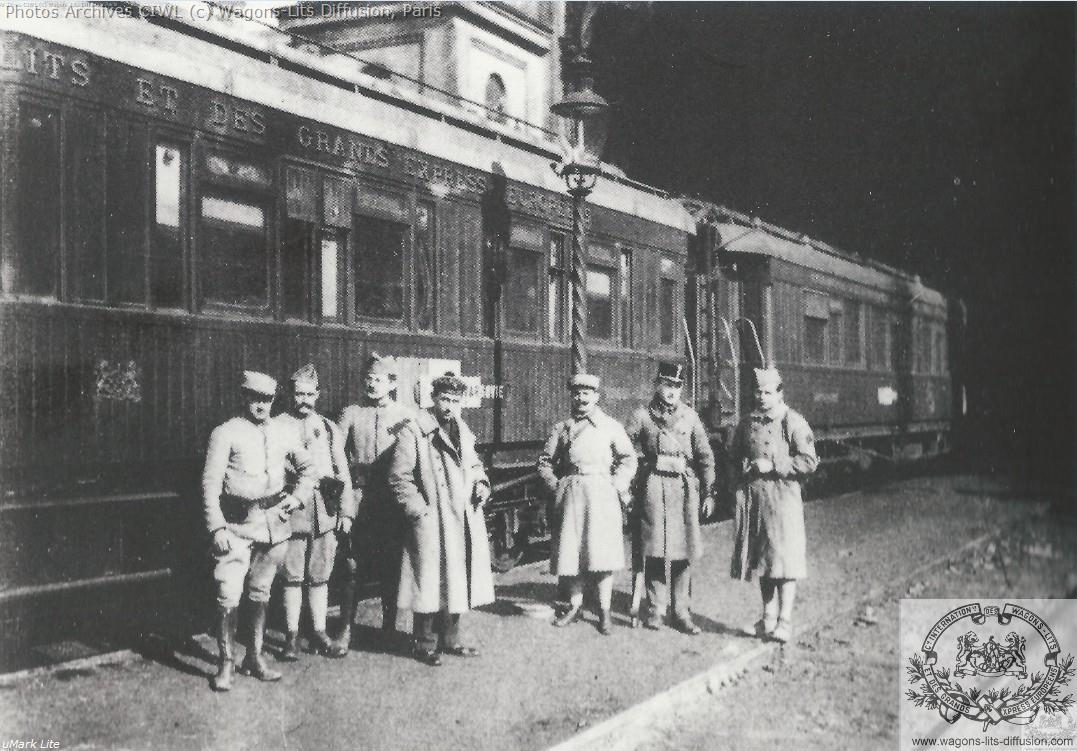 Wl train militaire de luxe 1918