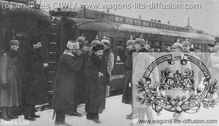 WL Trosky 1918 CIWL réquisitionnée par les allemands