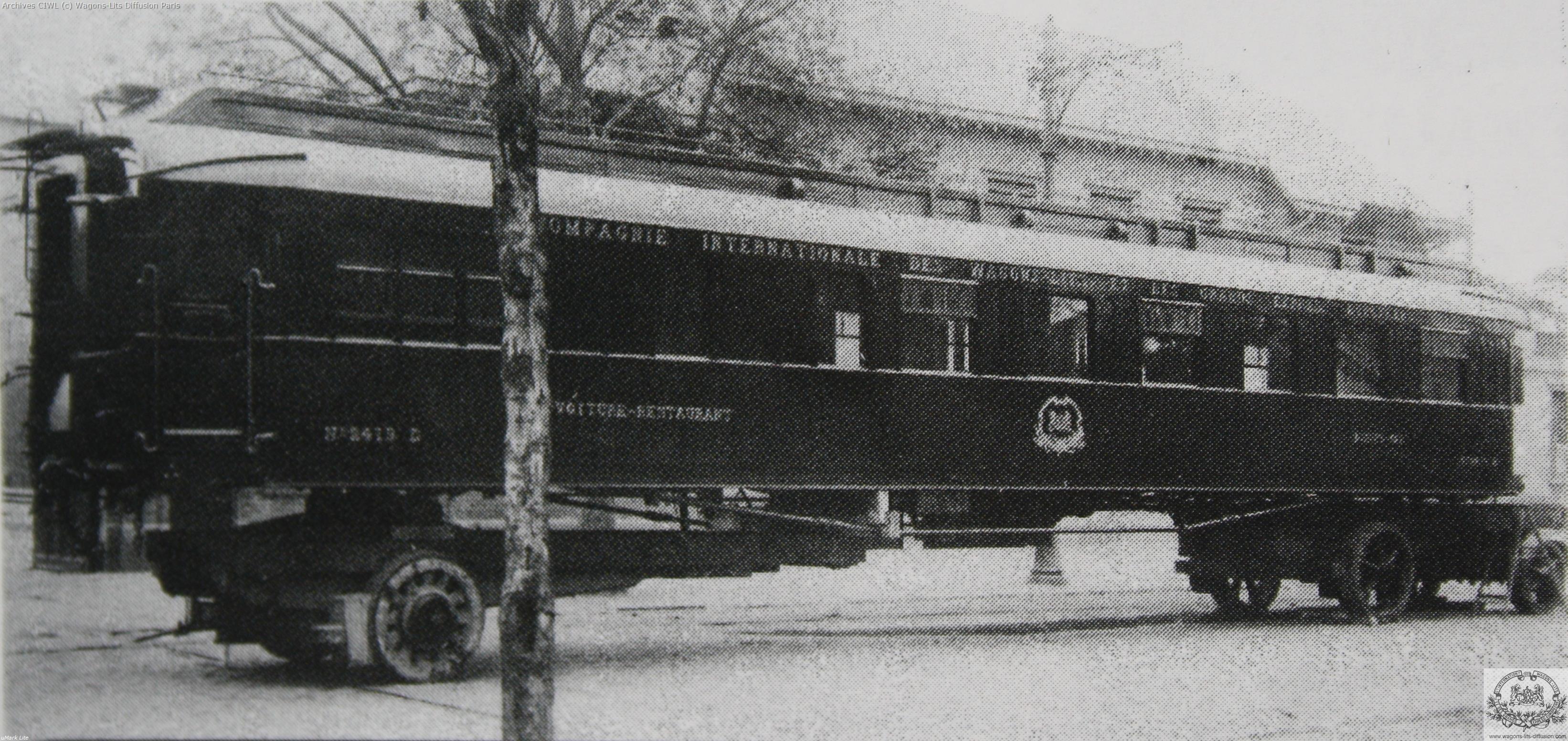 Wl voiture 2419 armistice aux invalides paris 1921 2