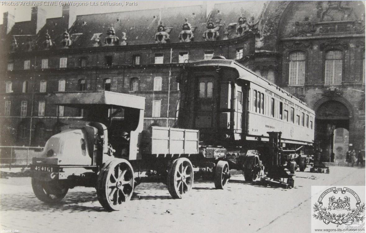 Wl voiture 2419 armistice aux invalides paris 1921 3