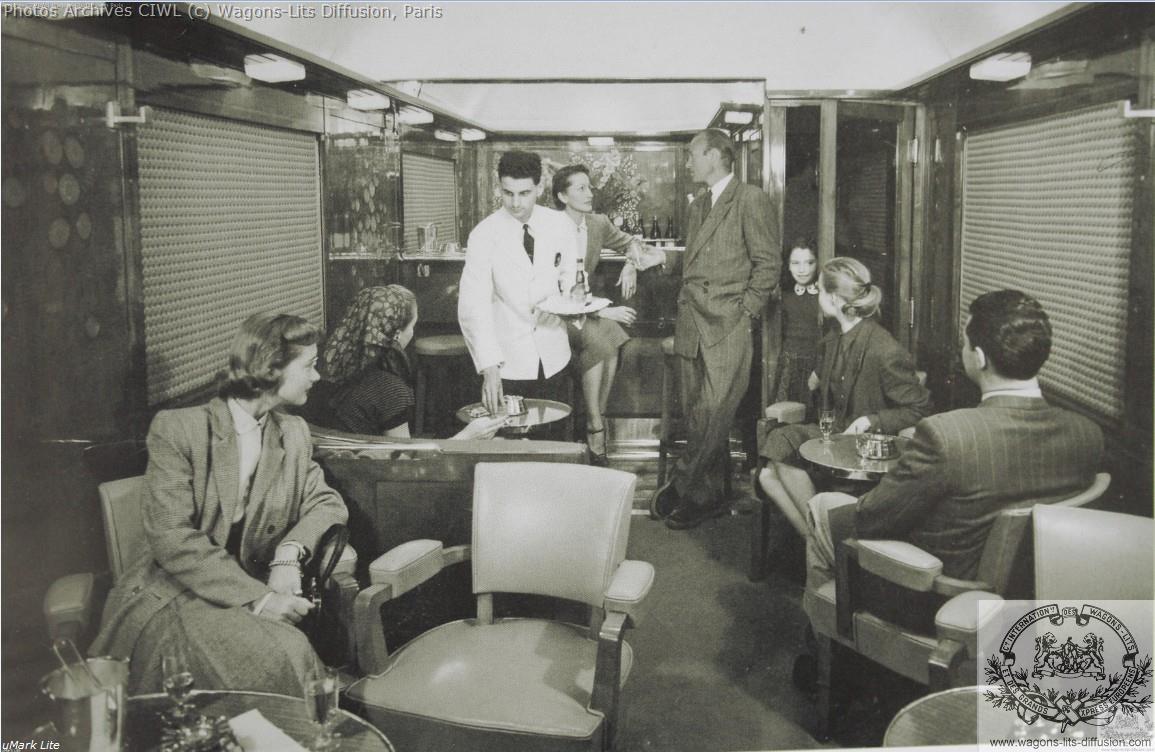 Wl voiture bar lalique 1950 photo pub
