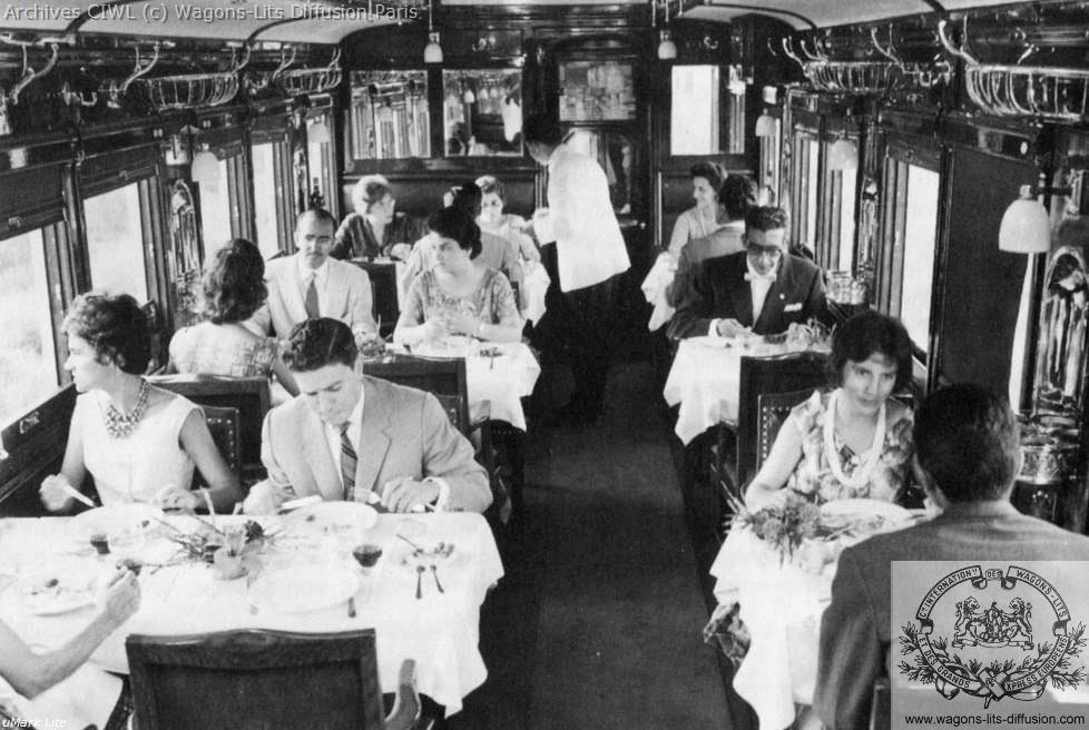 Wl voiture restaurant 1955