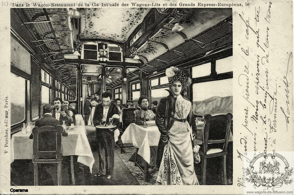 WL Wagon restaurant 1905