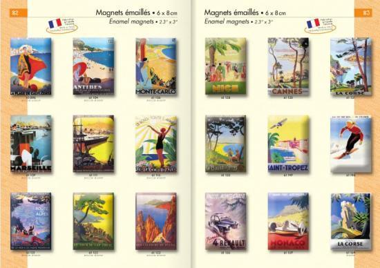 Edition & Souvenir: cartes postales, magnet et affiches PLM