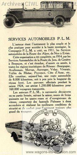 Plm autocars plm vers 1910