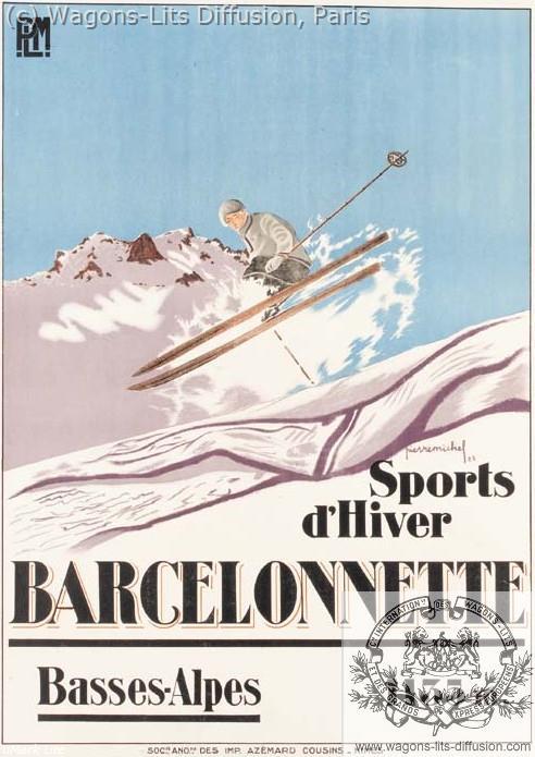 PLM barcelonette ski